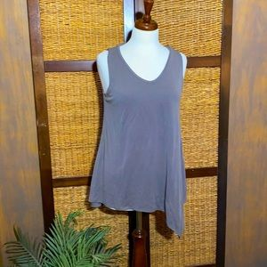 Cupio L gray Modal and polyester tank